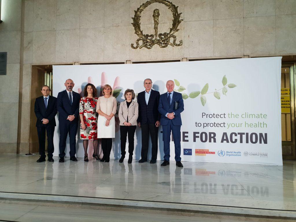 """Se ha celebrado la jornada """"Acceleration: driving climate action to protect health"""", encuadrada dentro de la #COP25"""
