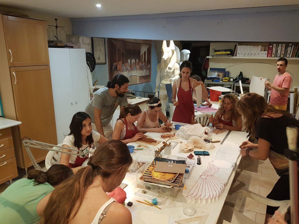 El taller de Bellas Artes de la Fundación Sophia, una cantera de artistas