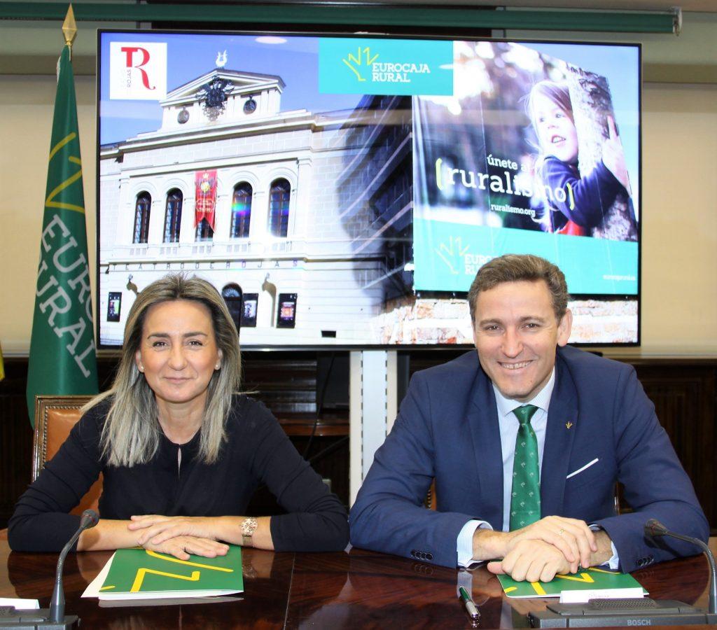 Eurocaja Rural y Ayuntamiento de Toledo escenifican su apuesta por la cultura