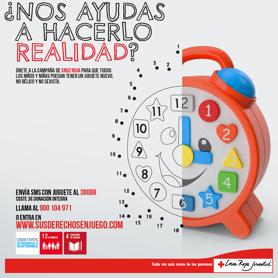 Cruz Roja Juventud consigue 120.000 juguetes para 55.000 niños y niñas en dificultad social
