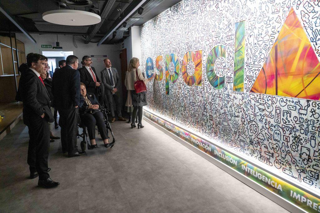 Fundación ONCE inaugura la sala de innovación EspacIA