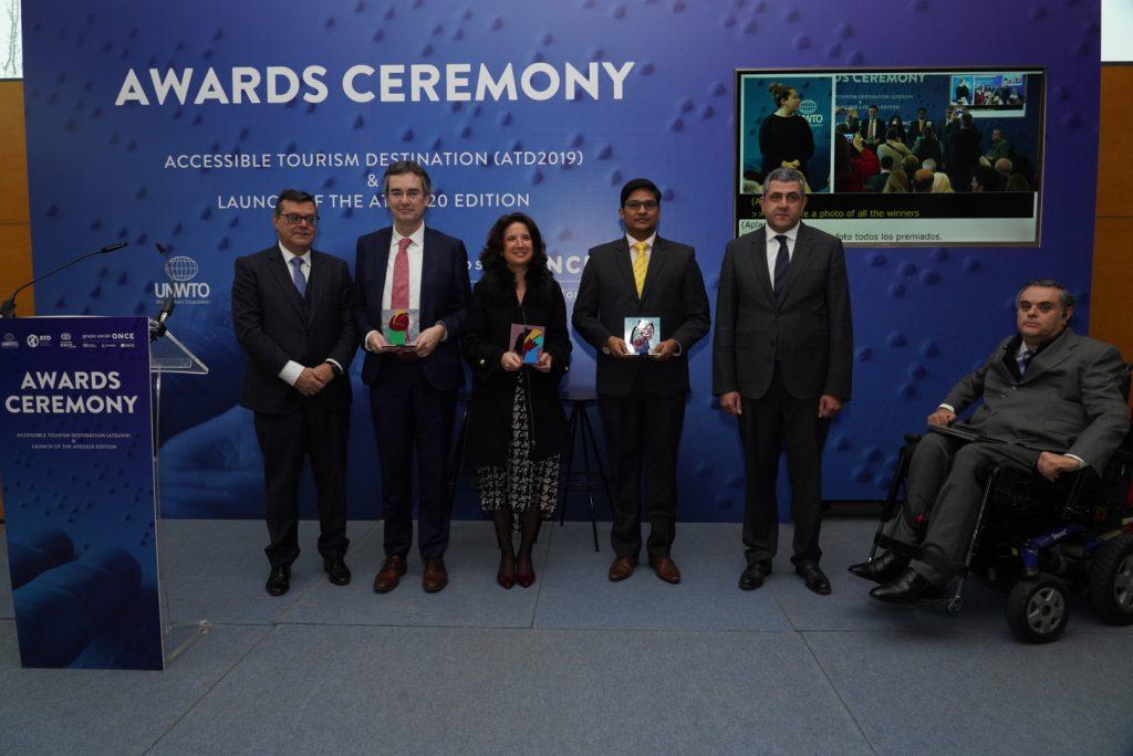 La OMT y Fundación ONCE entregan en FITUR los reconocimientos a los mejores 'Destinos turísticos accesibles'