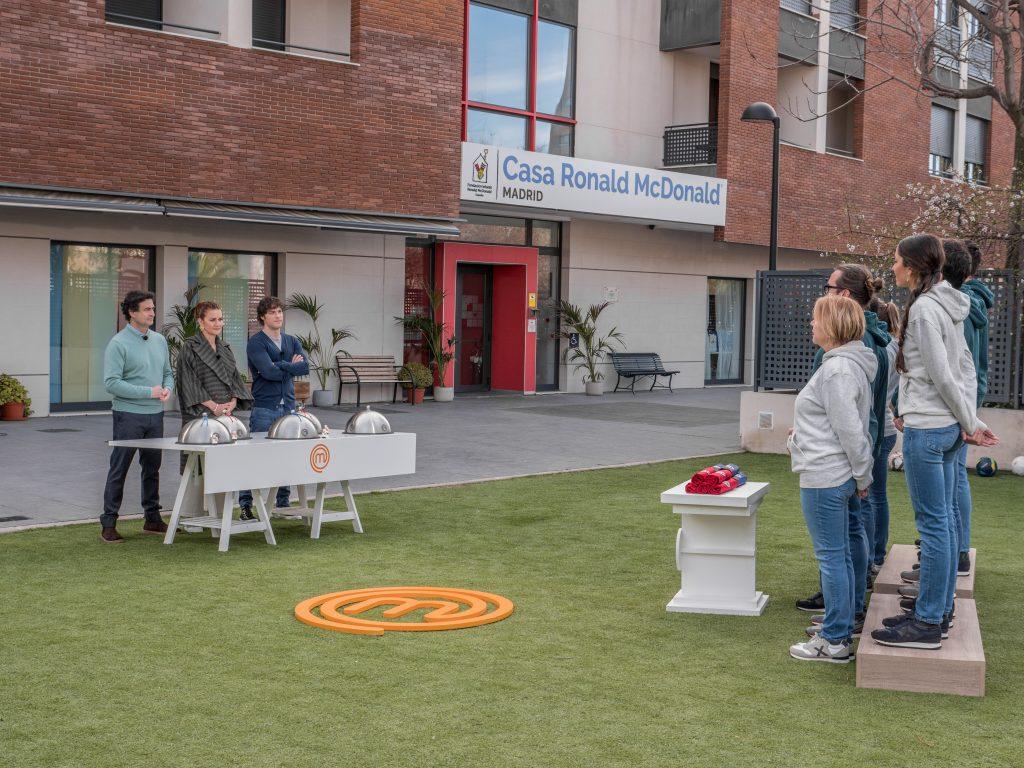 'MasterChef' rinde un homenaje a la Fundación Infantil Ronald McDonald con un cocinado solidario