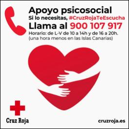 Cruz Roja Te Escucha: del miedo a la enfermedad al temor por la pérdida del empleo