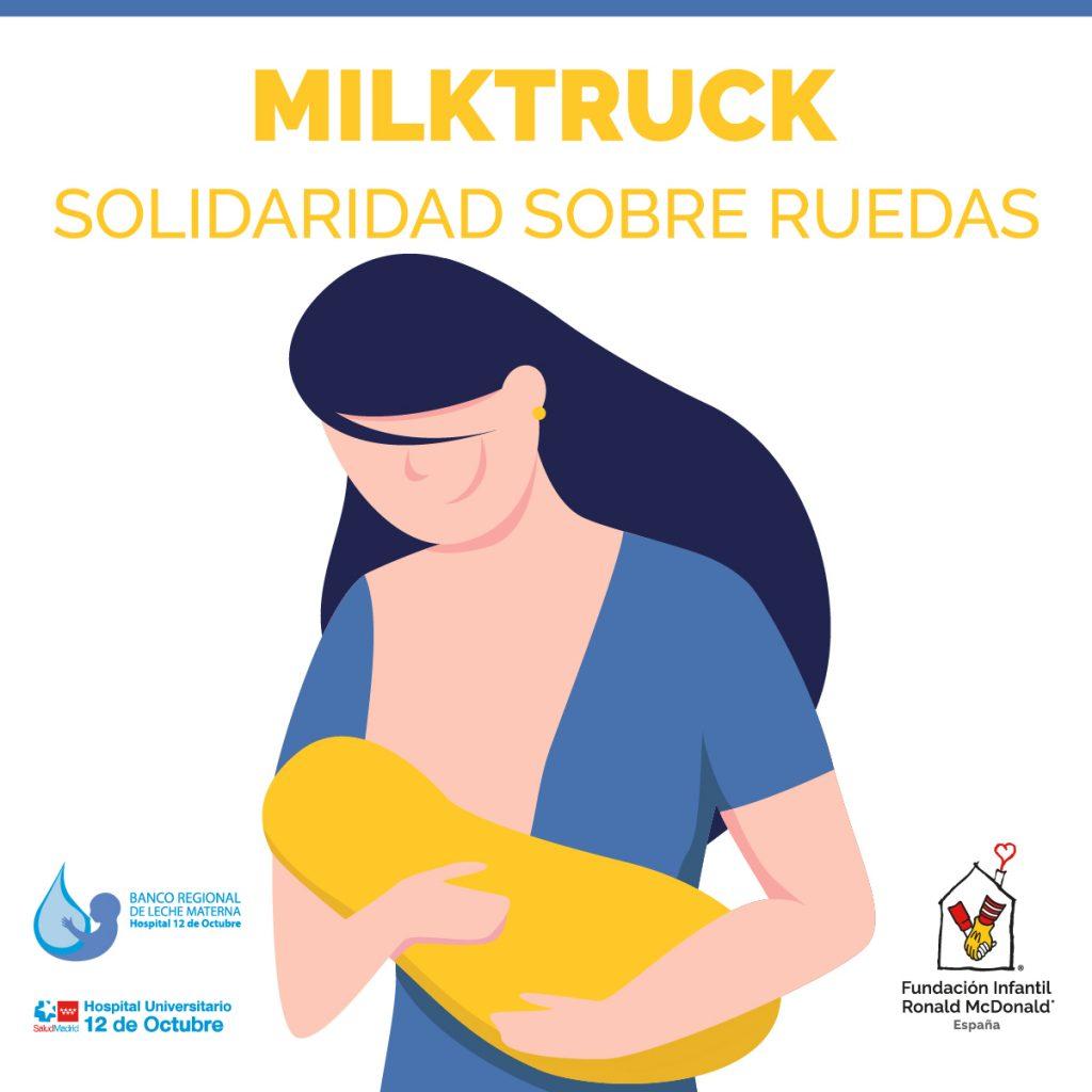 El Hospital 12 de Octubre y la Fundación Ronald McDonald ponen en marcha un servicio de recogida de leche materna a domicilio para el Banco Regional