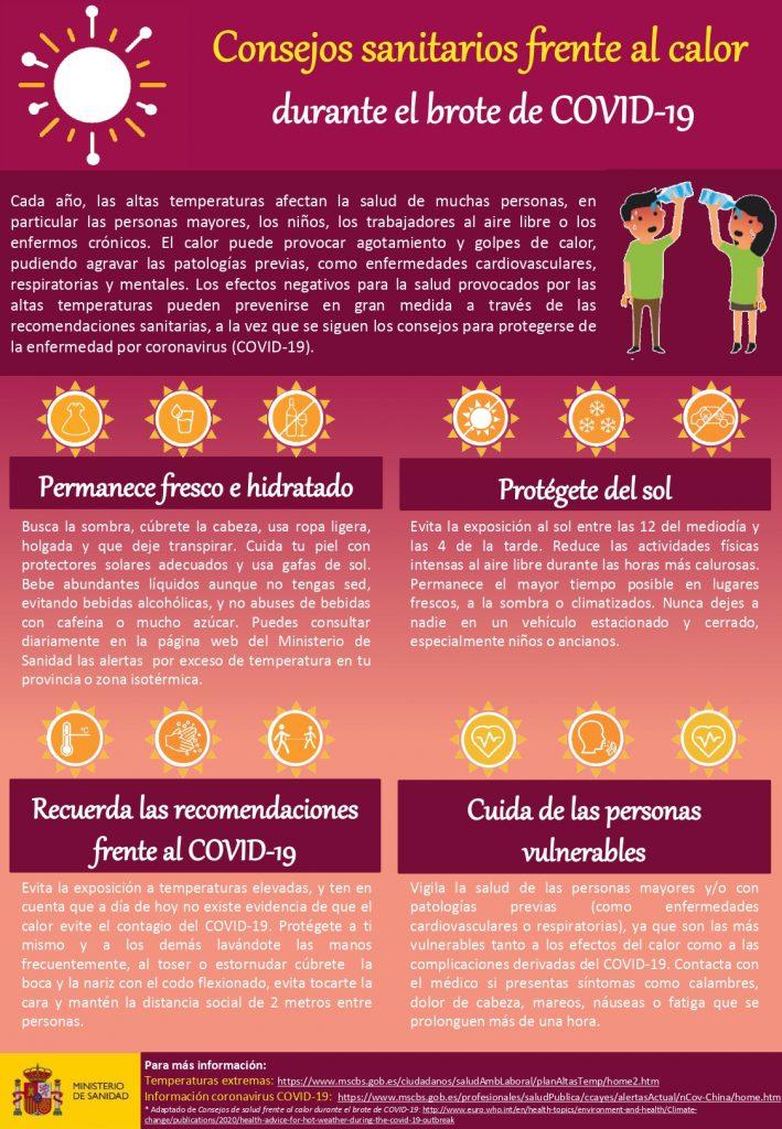 Sanidad activa el Plan Nacional de Acciones Preventivas contra los Efectos del Exceso de Temperaturas