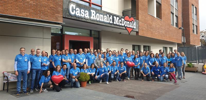 """La Fundación """"la Caixa"""" y CaixaBank colaboran por octavo año consecutivo con la Fundación Ronald McDonald"""