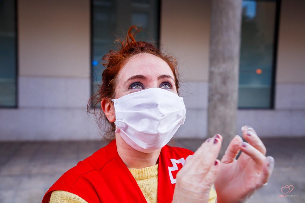 Mujer, entre 20 y 29 años, y con estudios superiores, el perfil mayoritario del voluntariado de Cruz Roja frente al COVID-19