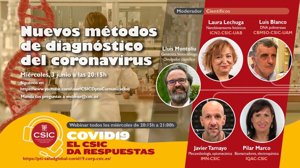Expertos responden sobre los métodos de diagnóstico del coronavirus SARS-CoV-2