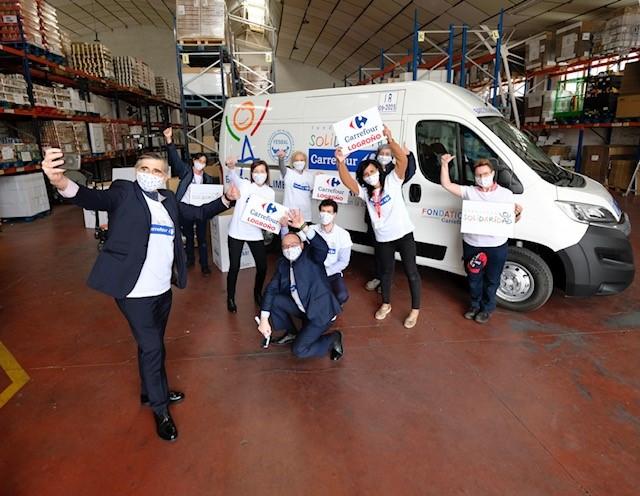 Fundación Solidaridad Carrefour dona un furgón isotermo al Banco de Alimentos de La Rioja
