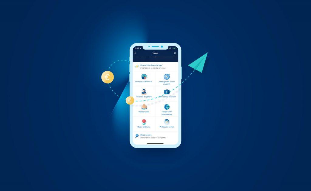 BBVA estrena un espacio solidario en su app para hacer donaciones por Bizum a entidades sin ánimo de lucro