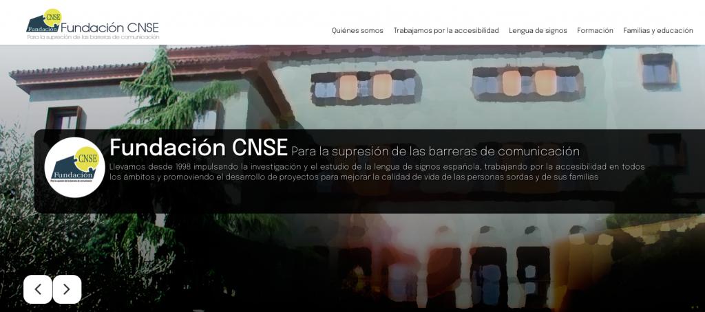 La Fundación CNSE estrena página web enfocada a la prestación de servicios para las personas sordas