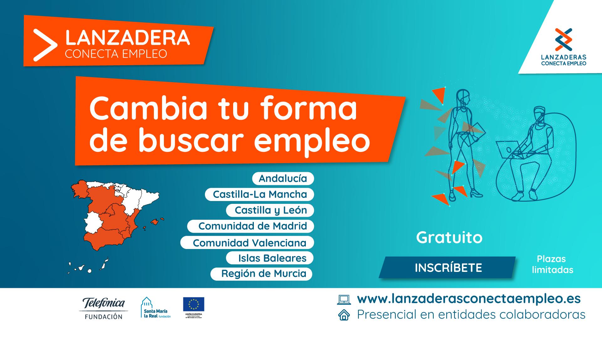 Abierta la inscripción para 16 nuevas Lanzaderas  Conecta Empleo que iniciarán en marzo