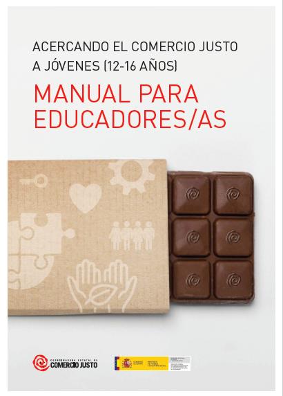 La Coordinadora Estatal de Comercio Justo publica un manual educativo para favorecer el consumo responsable entre los jóvenes