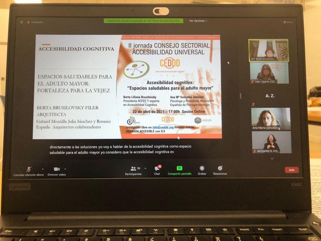 II Jornada del Consejo Sectorial CEDDD de Accesibilidad Universal