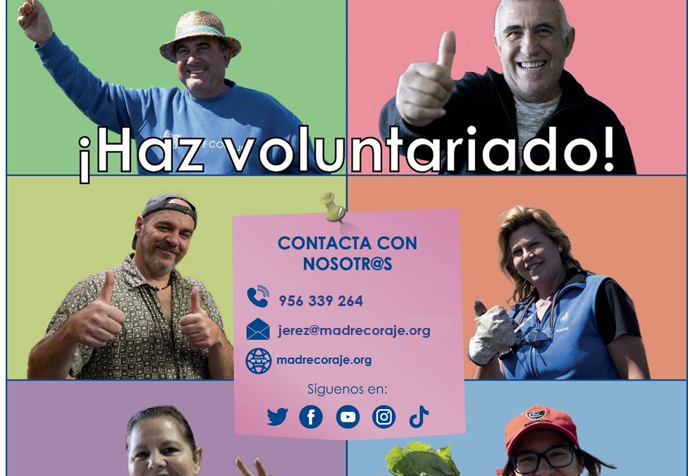 Madre Coraje busca en Jerez voluntariado para atender sus tiendas y para clasificar ropa y artículos