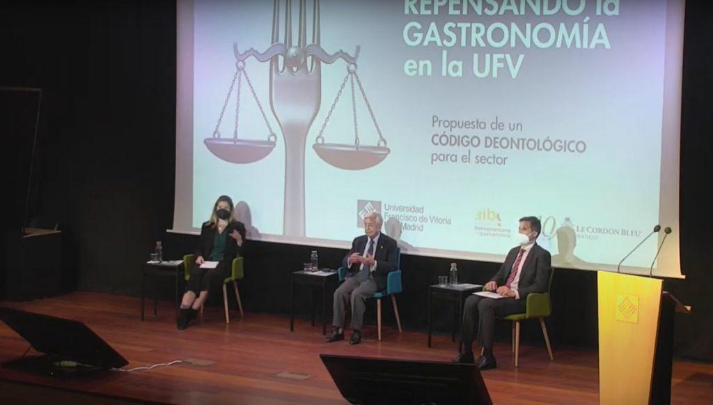 La Universidad Francisco de Vitoria propone el primer Código Deontológico para el sector de la Gastronomía