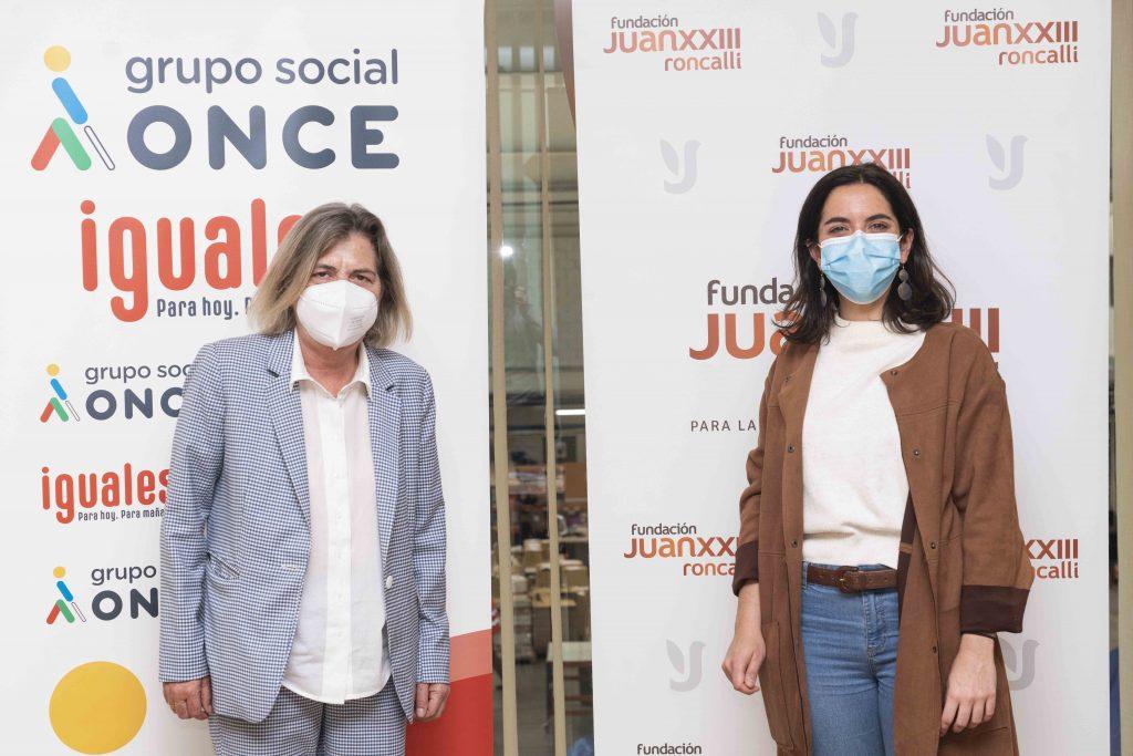 Fundación ONCE y Fundación Juan XXIII impulsan su labor de voluntariado