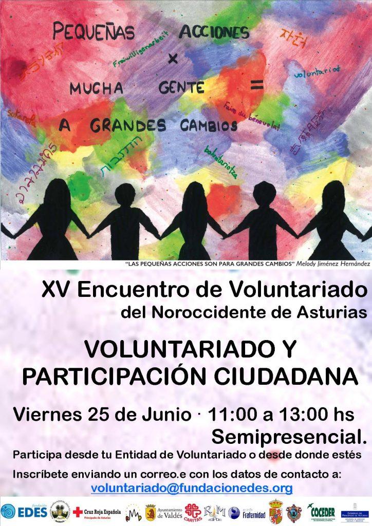 XV Encuentro de Voluntariado del noroccidente de Asturias