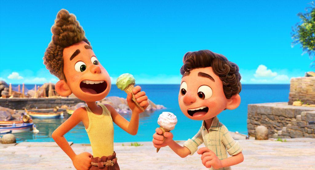 LUCA, la nueva película de Disney Pixar, llega también a los hospitales infantiles de España y Portugal el próximo 18 de junio