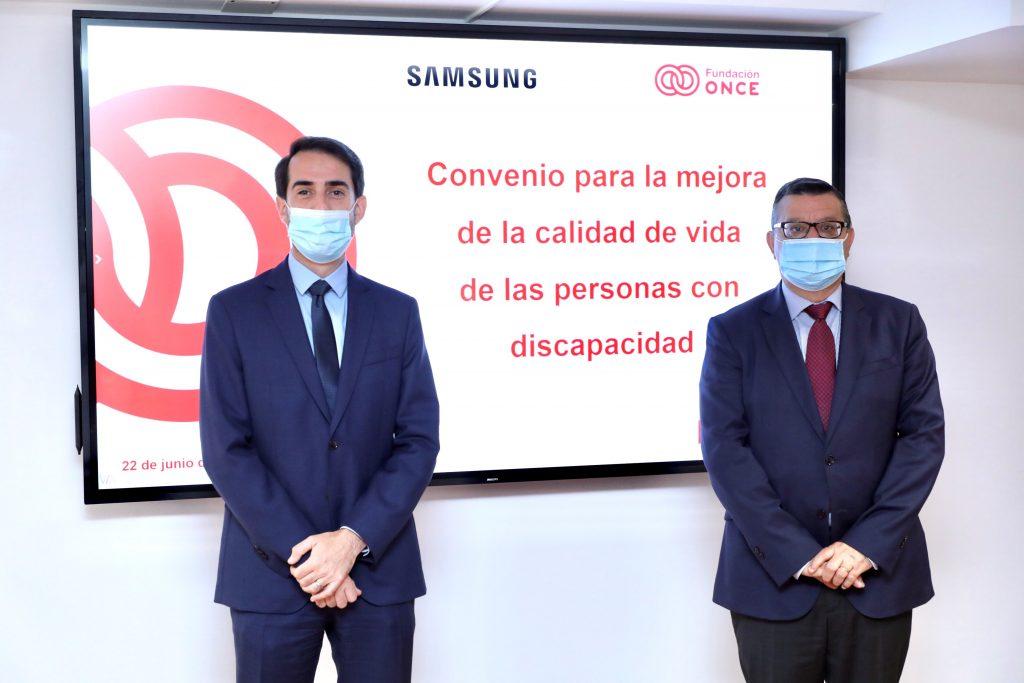Samsung y Fundación ONCE apuestan por la formación y la empleabilidad de las personas con discapacidad