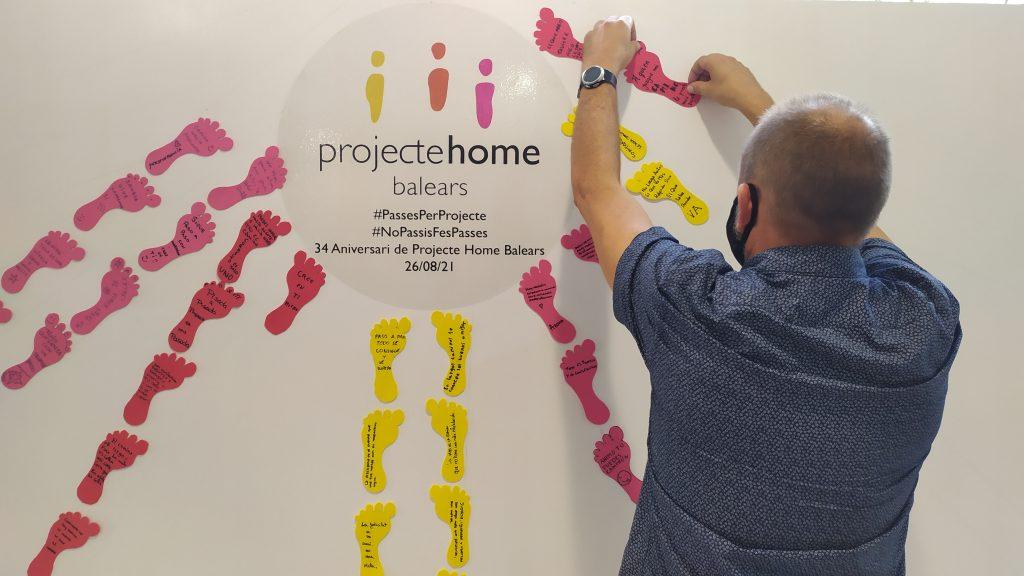 Proyecto Hombre de Baleares ha celebrado su 34 aniversario dando pasos para conseguir una vida libre de adicciones