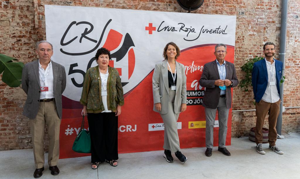 """50+1 Años de Cruz Roja Juventud: """"Estáis preparados y dispuestos. Sois un espejo y fuente de inspiración"""""""