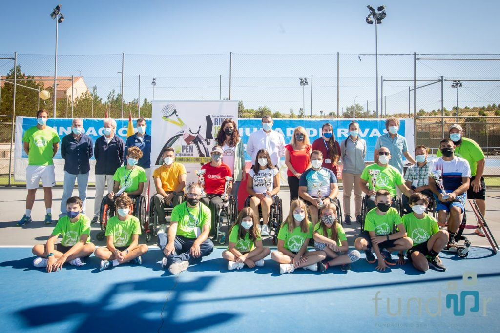 El italiano Luca Arca y la inglesa Cornelia Oosthuizen, vencedores del VI Open Internacional Fundación ONCE 'Ciudad de Rivas' de tenis en silla de ruedas